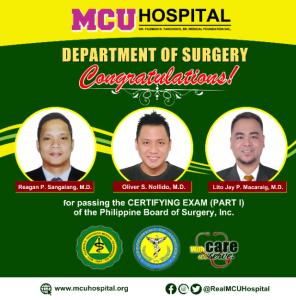 #MCUHospital #WithCareWeServe #CaloocanHospital #HospitalInCaloocan #MCU